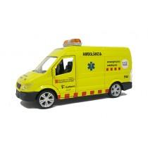 Réplica ambulancia SEM