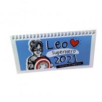 Calendario Leo Superhero 2021