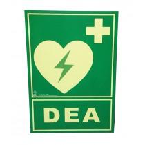 Cartel fotoluminiscente DEA